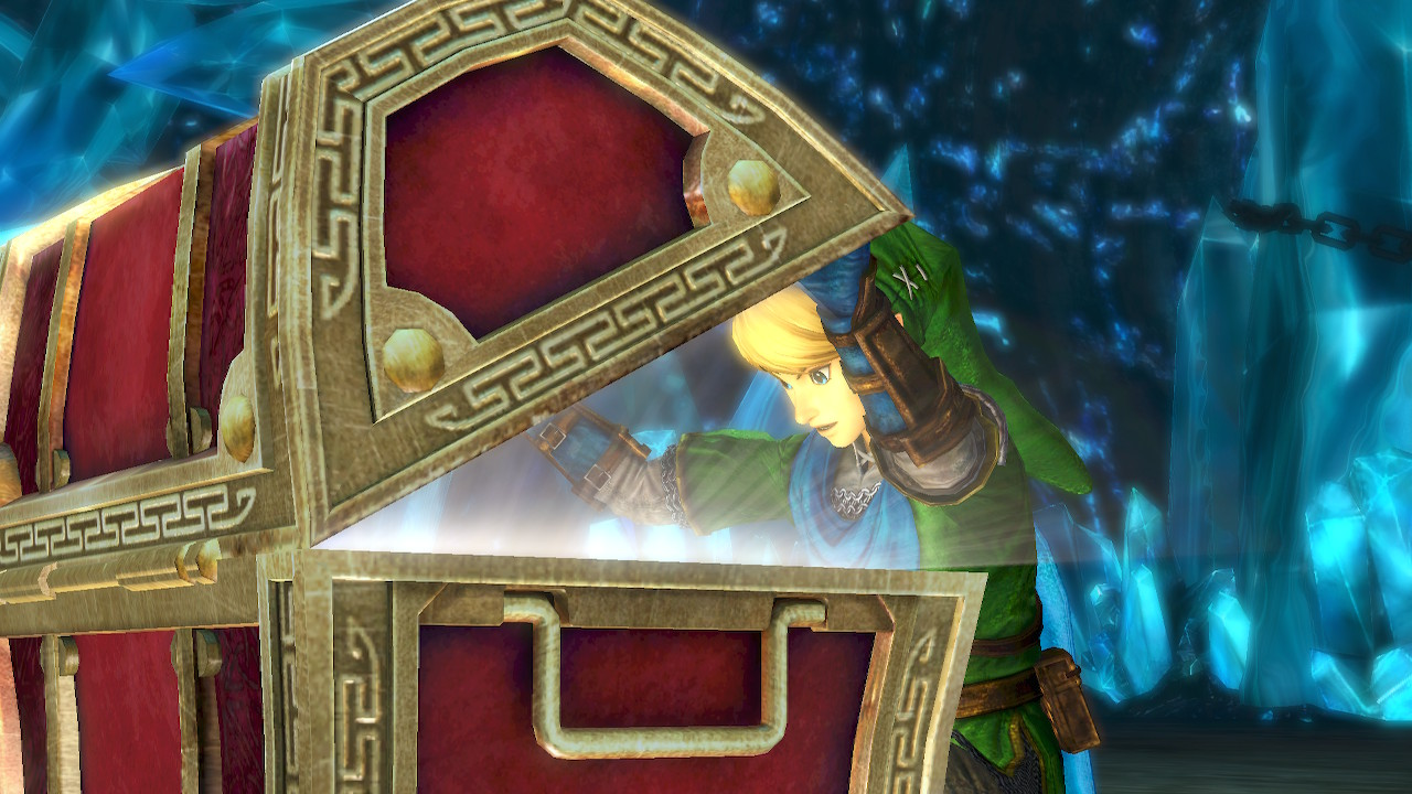 Hyrule Warriors treasure chest