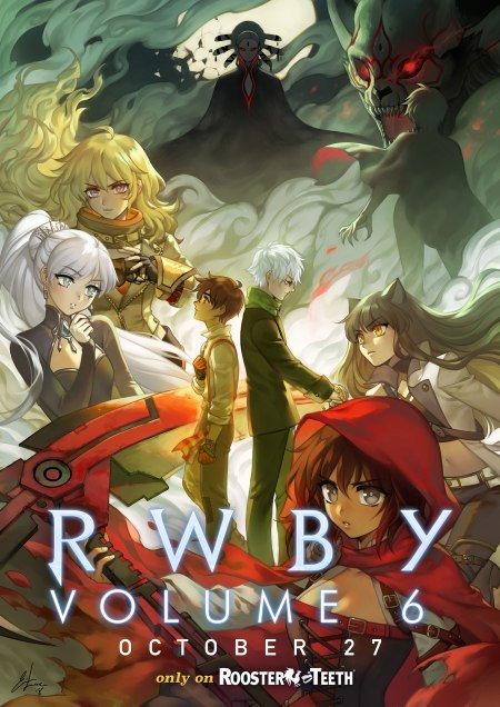 'RWBY': Exclusive first look at Vol. 6 poster Credit: Rooster Teeth