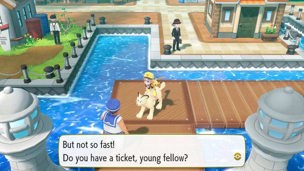 Ride Pokemon