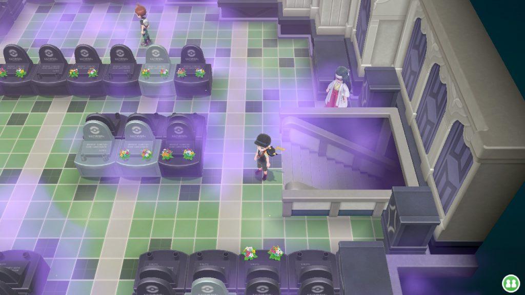 Pokemon Tower mausoleum