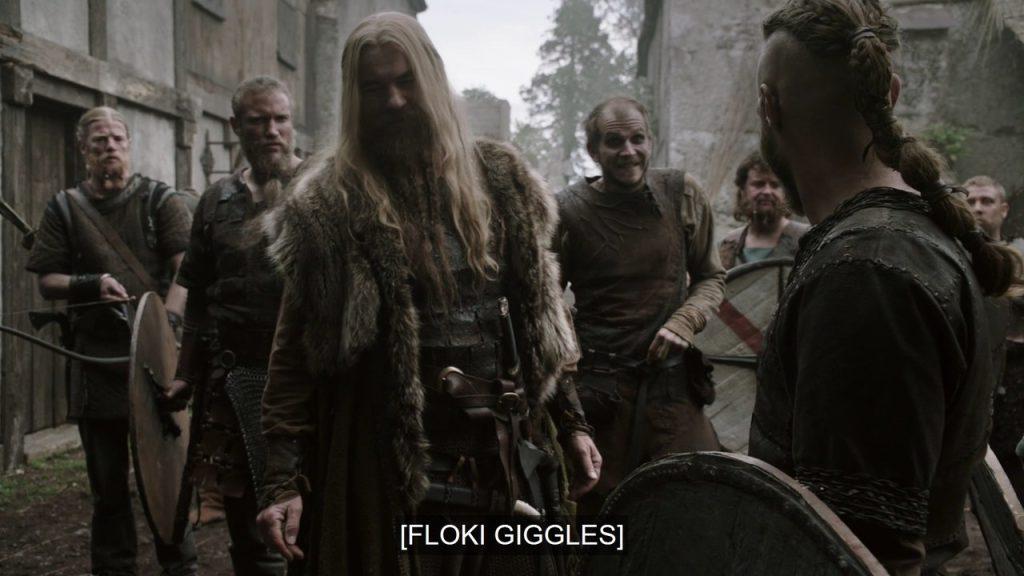 Floki giggles